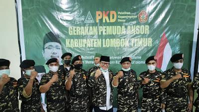 Buka PKD GP Ansor, Wabup Lotim Paparkan Makna Kepemimpinan
