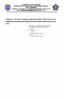 Press Release COVID-19 Tarakan 18 Mei 2020 - Tarakan Info