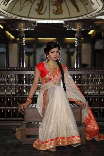 Actress Sai Dhansika Latest Cute Pics In Saree Actress Trend