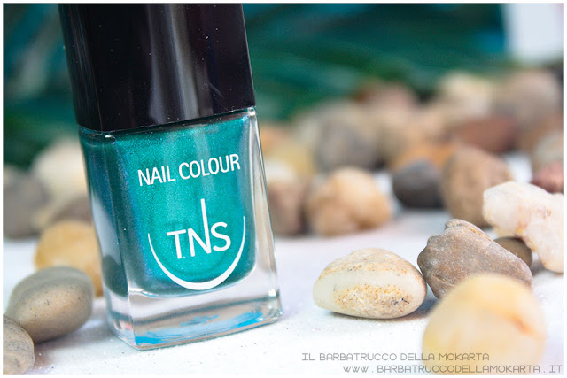 nail polish beach club collection TNS cosmetics