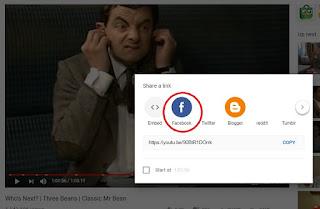 Cara Menampilkan Video Youtube Facebook