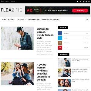 Fkexzine free blogger template
