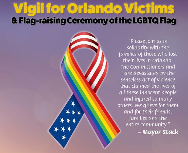 Vigil for Orlando Victims
