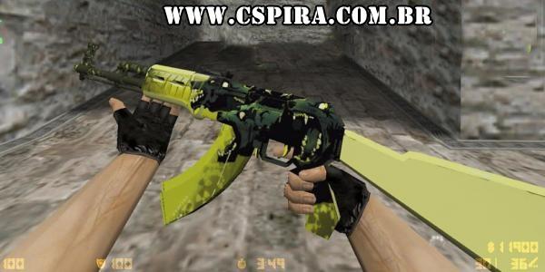 Skin AK-47 Cerberus para CS 1.6