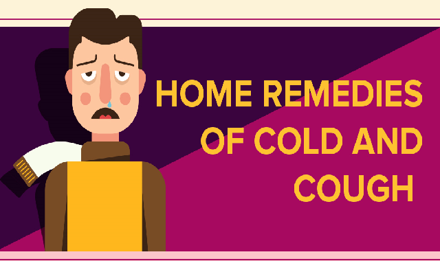 Home Remedies of Cold and Cough #infographic