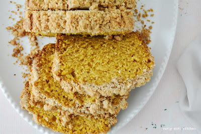 Pumpkin Bread, Pumpkin Streusel Bread, Pumpkin Recipes, High Altitude Pumpkin Bread