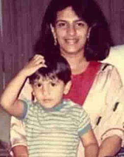 Ranveer Singh With Her Mother