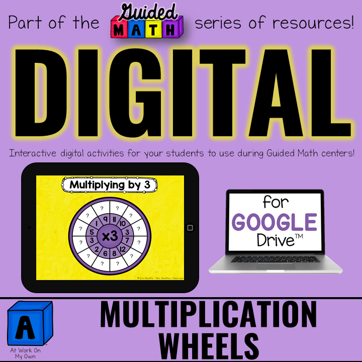 Digital Multiplication Wheels