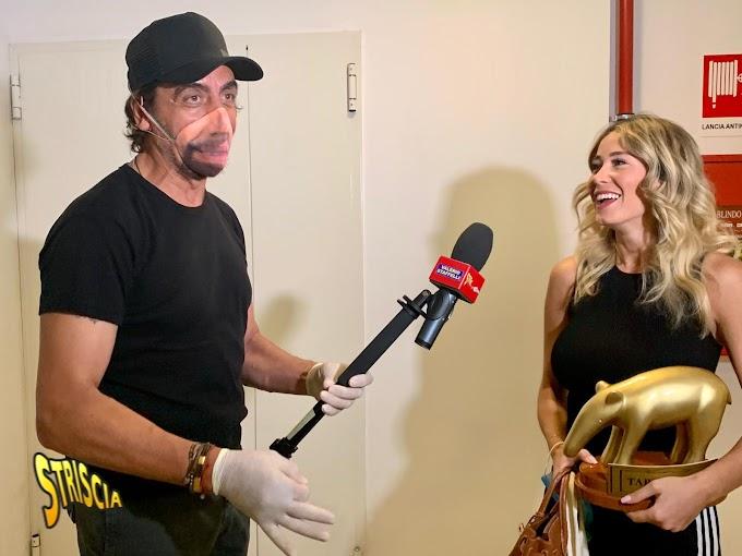 Striscia La Notizia: Tapiro d'oro a Diletta Leotta