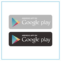 Android App on Google Play Logo - Free Download File Vector CDR AI EPS PDF PNG SVG