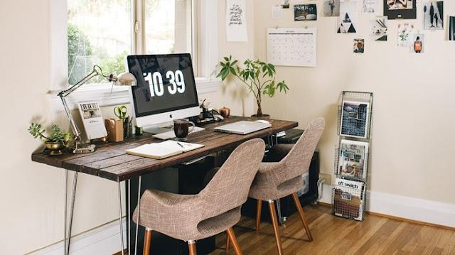 7 Inspirasi Desain Ruang Kerja Minimalis Tingkatkan Produktivitas
