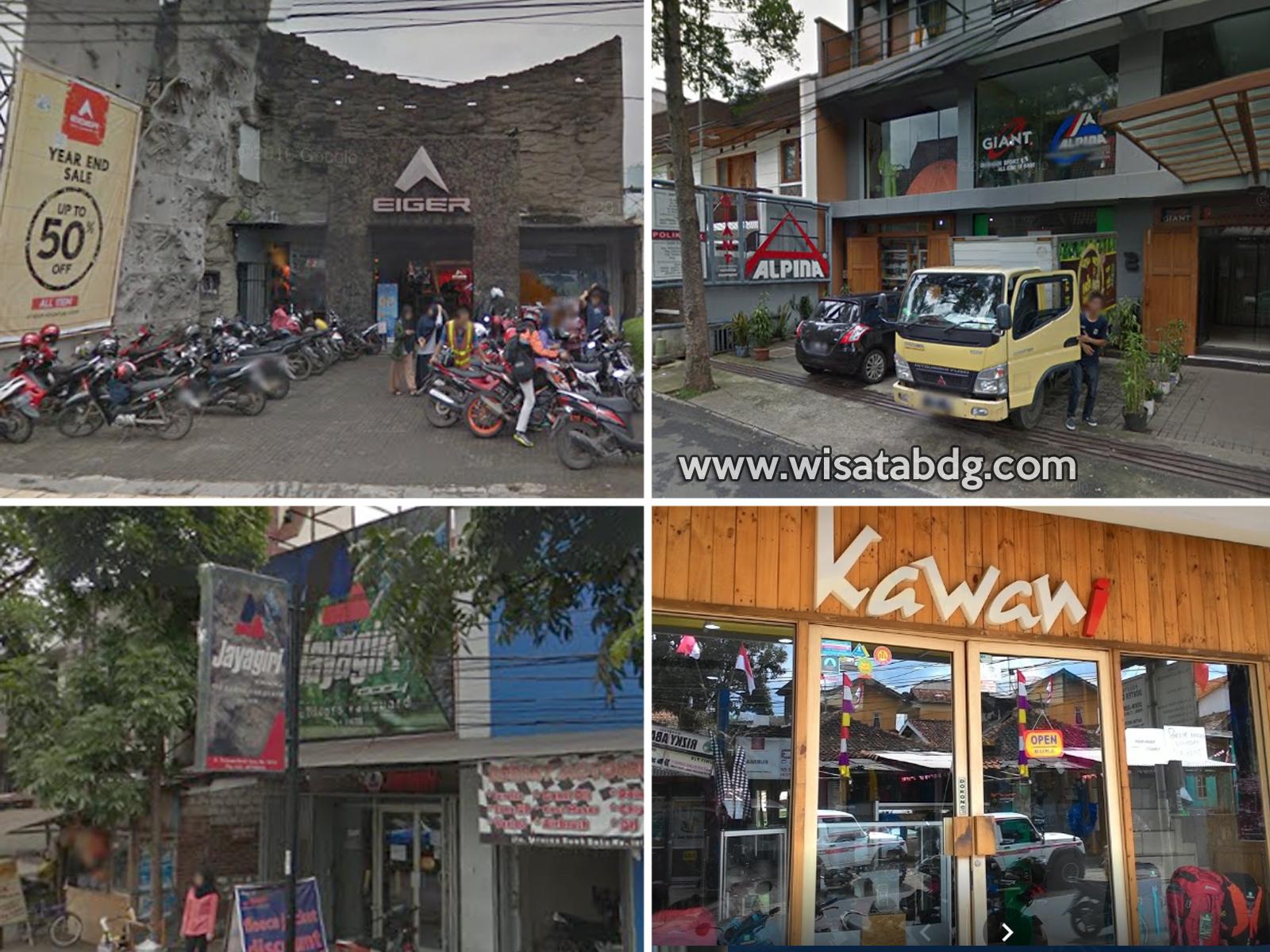 Alamat Toko Perlengkapan Outdoor Di Bandung Wisatabdg