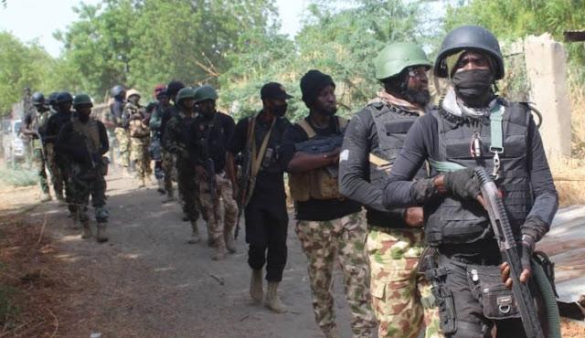 Army, Navy SBS Invade Boko Haram, ISWAP Camps, Find Grenades