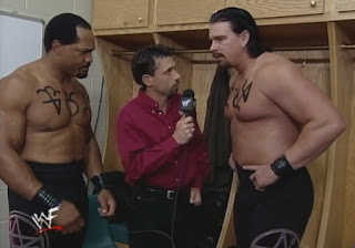 WWE / WWF - Unforgiven 1999 - Michael Cole interviews The Acolytes