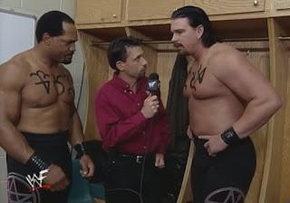 WWE / WWF - Unforgiven 1999 - Michael Cole interviews The Acolytes