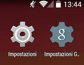 impostazioni privacy android