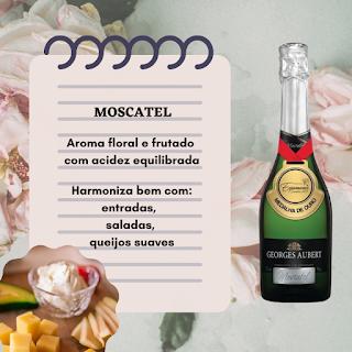 Harmonização - Moscatel