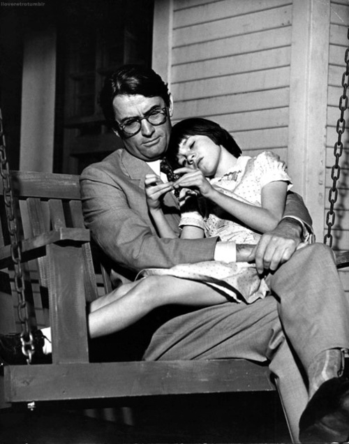 An analysis of atticus and scout in to kill a mockingbird by harper lee