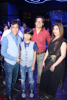 Gracy Singh and Bappi Lahiri   Blue Mountain Music Launch IMG 0628.JPG