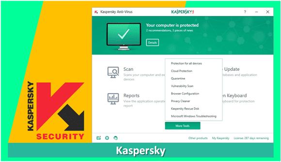 antivirus terbaik gratis untuk pc laptop kaspersky