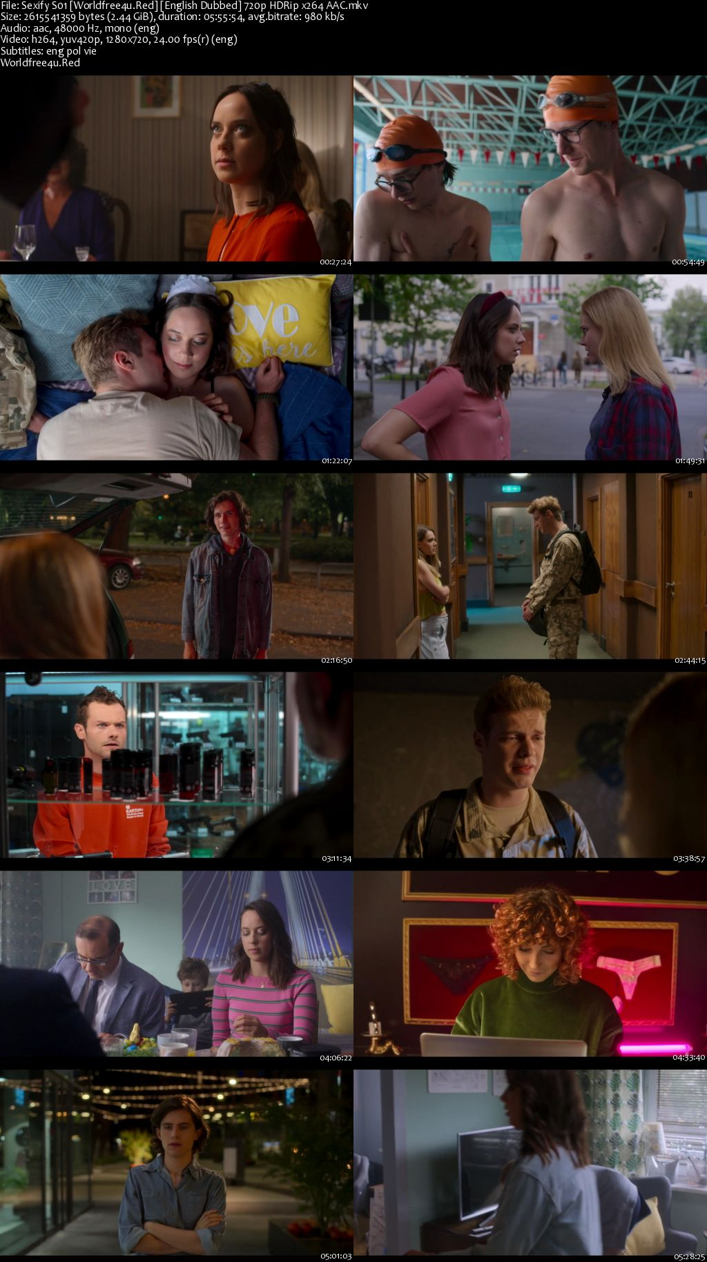 Sexify 2021 (Season 1) All Episodes HDRip 720p