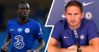 Frank Lampard clear up air on N'Golo Kante's future at Chelsea amid Inter links