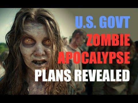 Declassified: U.S. Government's Zombie Apocalypse Plan Is Real