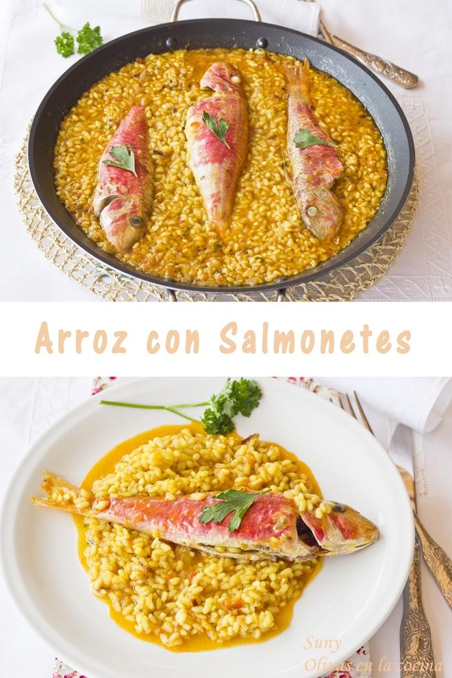 Arroz con salmonetes