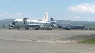 Pesawat Militer AS di Aceh