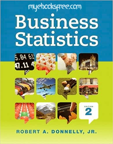 Business Statistics Pdf Book 2e by Donnelly