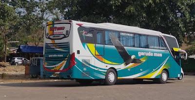 Foto Bus Garuda Mas Ortega