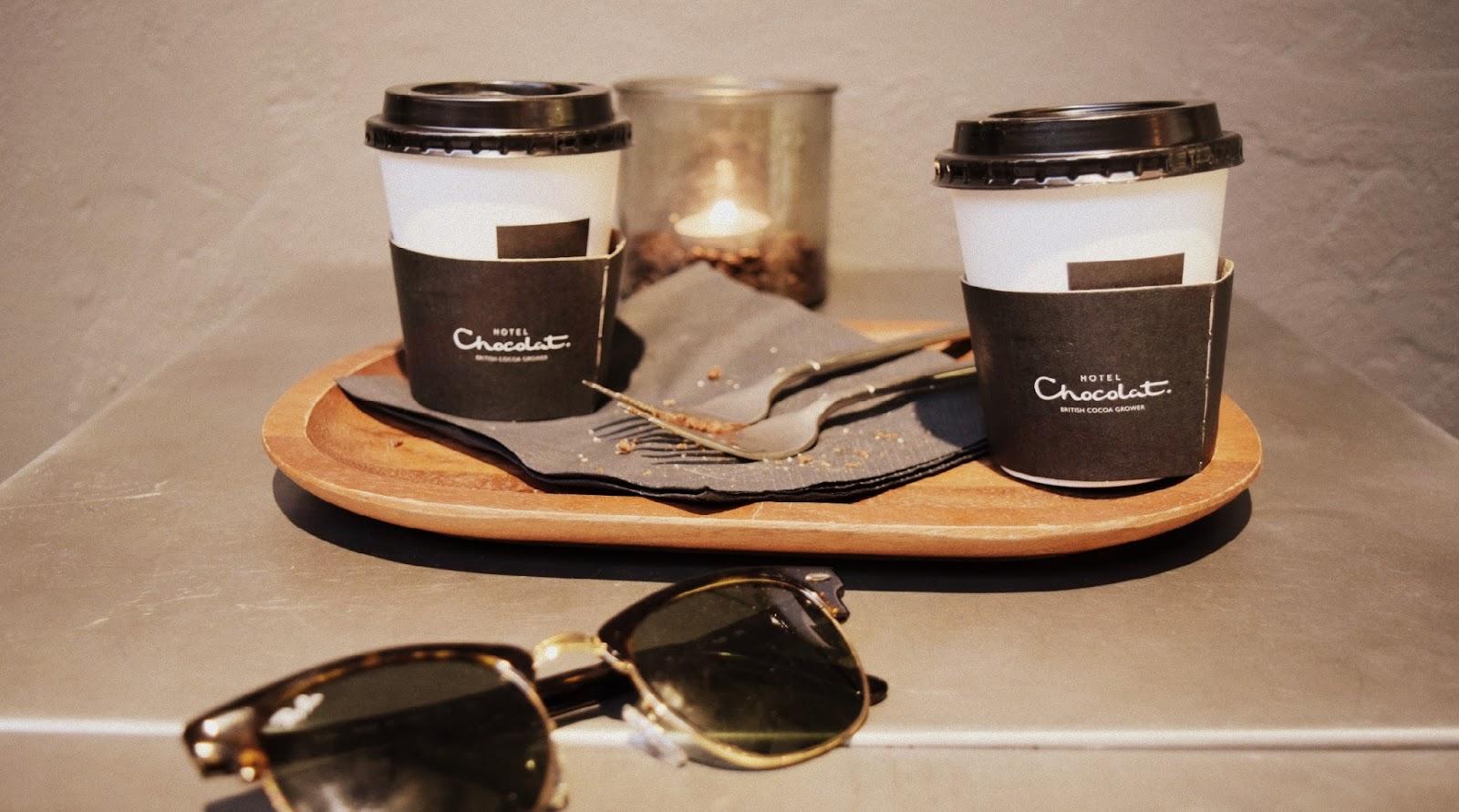 Hotel Chocolat latte Copenhagen