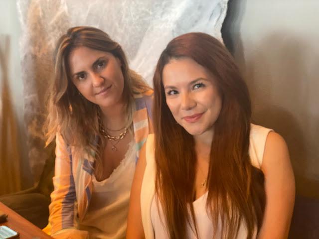 Daniela Audi y Montse Velasquez.