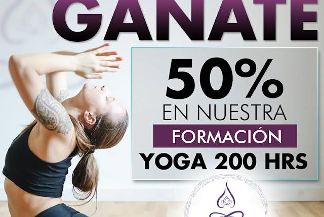 Formación de Yoga 200 hrs con énfasis en Yoga terapéutico