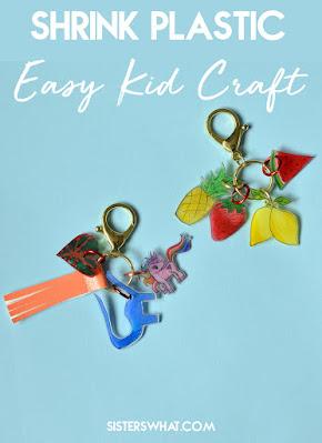 shrink plastic kids craft diy