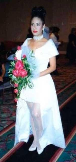 Selena Quintanilla casamento Suzette