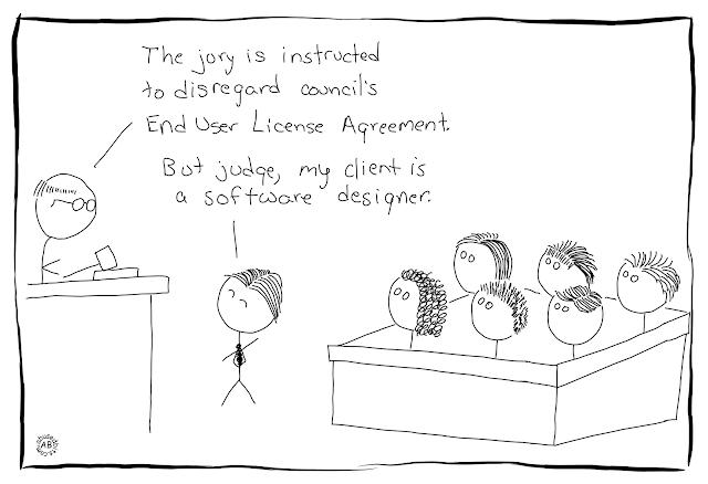 amusedbits, cartoon, humor, jury