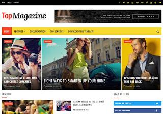 TopMagazine Blogger Template %2BEasypakistan