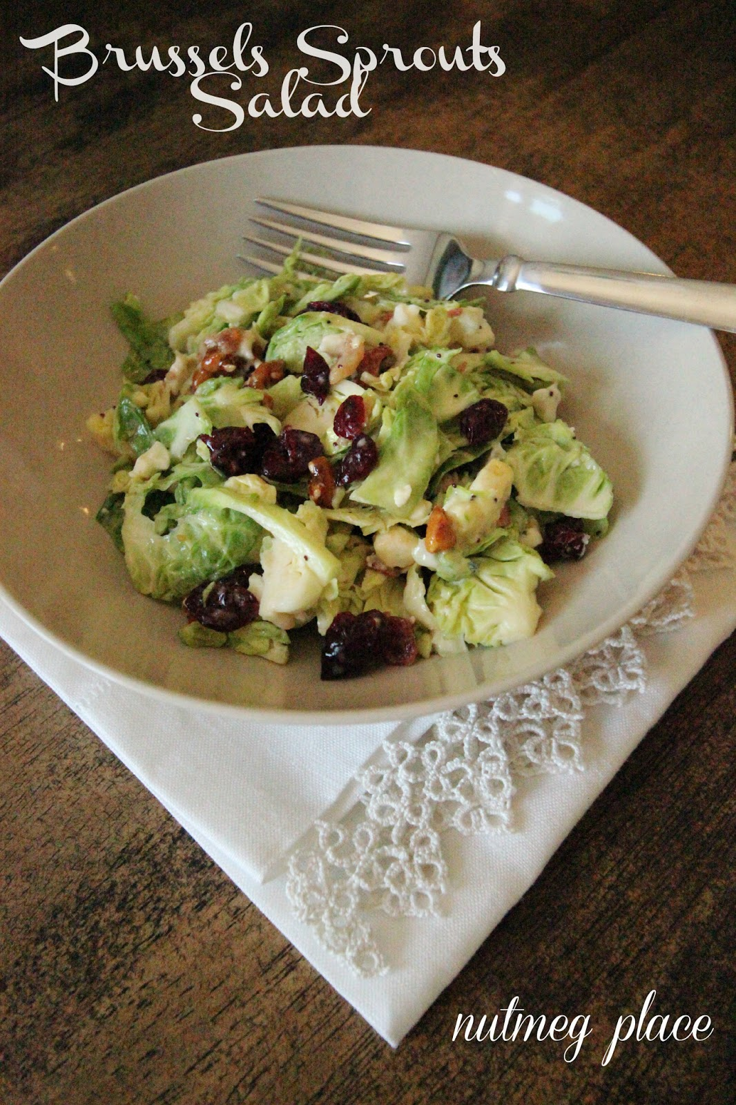 Brussels Sprouts Salad ~