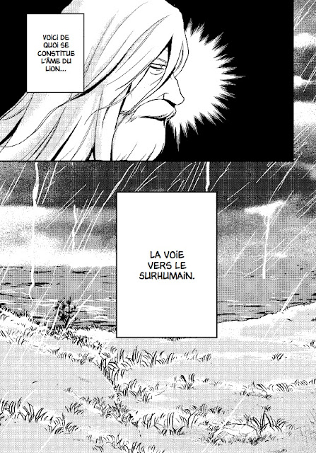 "page de ""Friedrich Nietzsche ainsi parlait Zarathoustra"" par Variety Artwork chez Soleil Manga"
