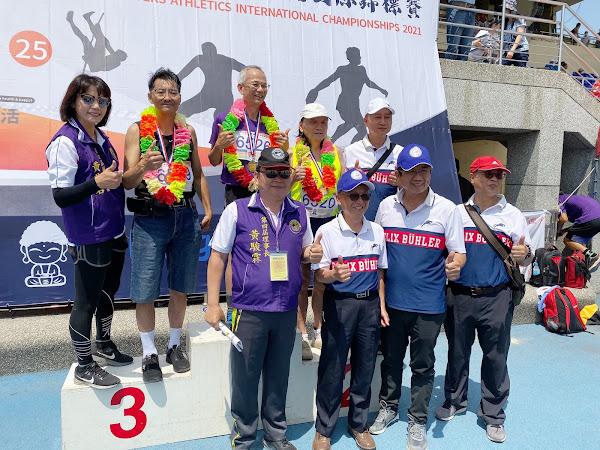 全國常青田徑國際錦標賽 彰化95歲選手百米勇奪第一