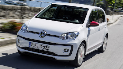 Volkswagen Up! front look Hd Pictures