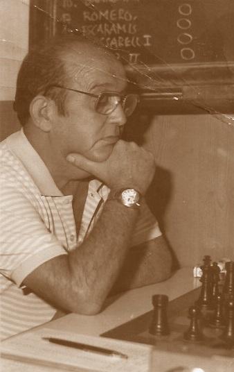 El ajedrecista Joaquín Bescós Mambrona