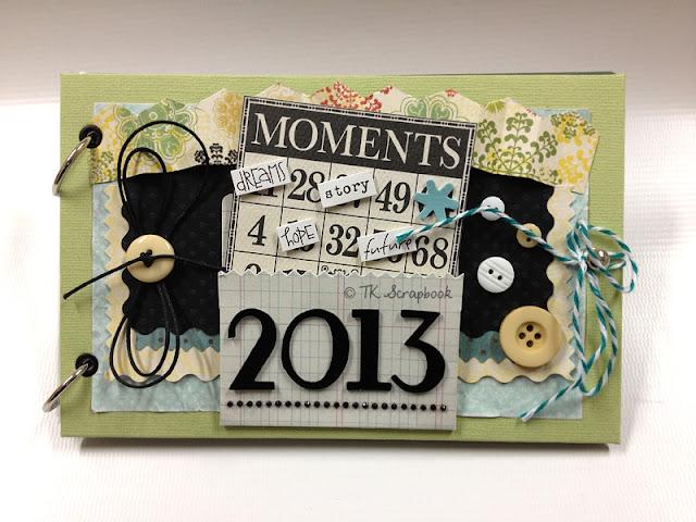 álbum scrapbook sorteio 2013
