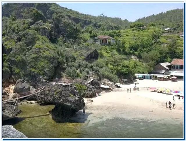 Lokasi Pantai Siung Jogja