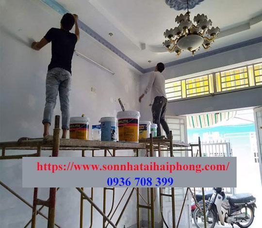 Thợ sơn giá rẻ tại Hải Phòng. 0936 708 399