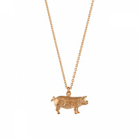Alex Monroe Pig Necklace Pendant Jewellery Blog