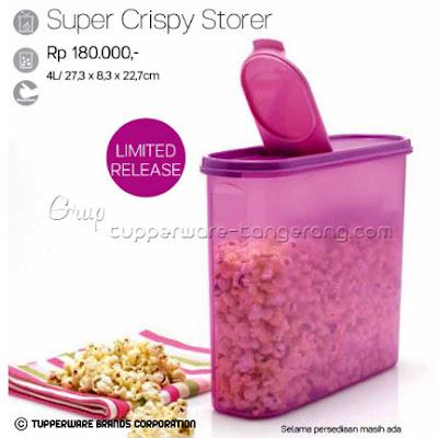 Super Crispy Storer ~ Tupperware Promo Mei 2016