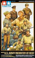 Figurine US Army. Tamiya 1/48