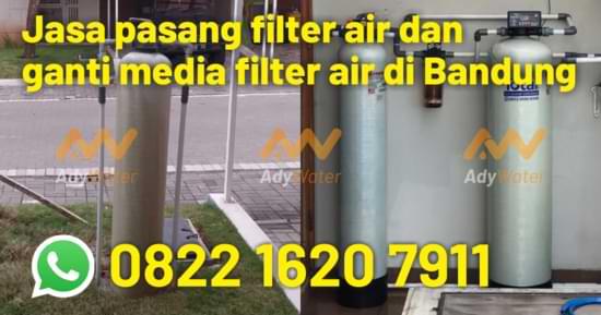 Jasa pasang filter air di Bandung